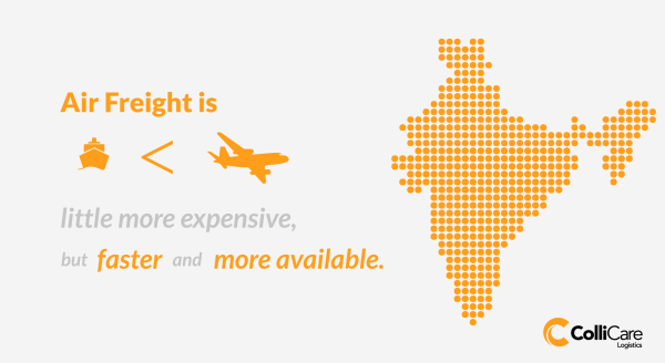 Air Freight is expensive but has many other benefits that make it a beneficial choice for freight forwarding